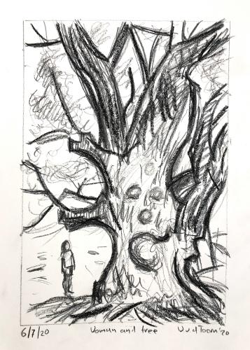 Woman and tree study 1