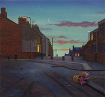 Moon over Derry